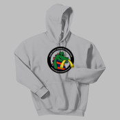 Adult and Youth Hooded Sweatshirt with Front Print